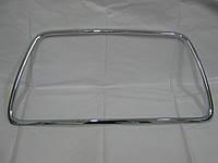 Хромированая рамка переднего бампера Mitsubishi Lancer X  (Ralliart) 6400B398