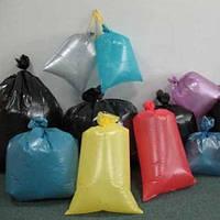 Пакеты - мешки из первичного полиэтилена цветные