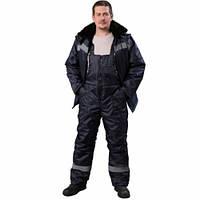 Костюм утепленный из светоотражающей полосой, утепленная спецодежда, рабочая одежда зимняя