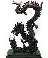 Статуэтка Дракон с хрустальной жемчужиной