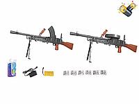 Игрушечный автомат 2в1 789-9, стреляет гелевыми и поролоновыми пульками. Работает от аккумулятора.