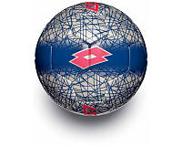 Мяч футбольный Lotto FB900 LZG р. 5 White/Red Fluo (S4094)