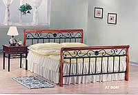 Кровать кованая 0,9 AT-9041 SB/QB
