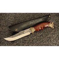 Нож охотничий Вепрь, ручная работа, оригинальный подарок