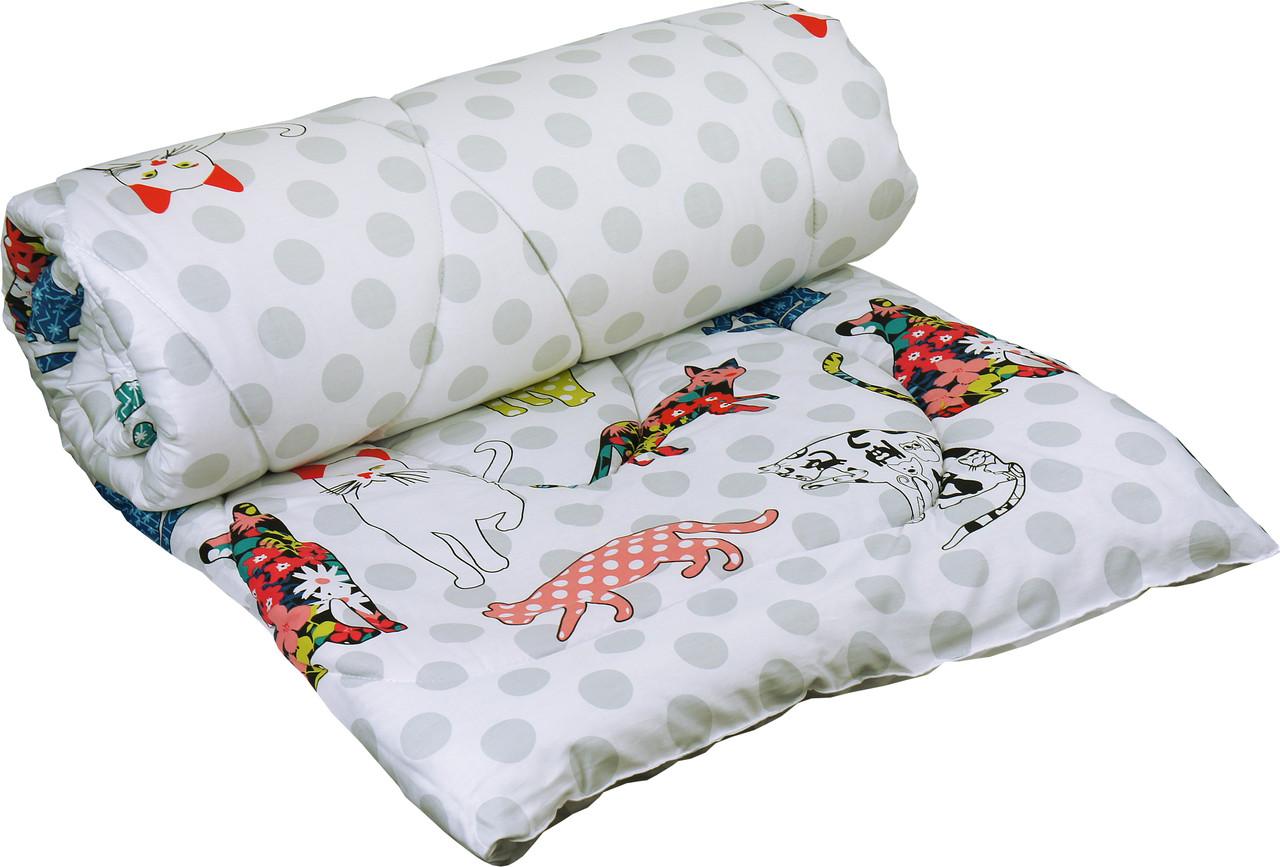 Одеяло силиконовое Руно Cat демисезонное 172х205 двуспальное