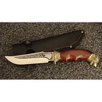 Нож охотничий Волк, ручная работа, оригинальный подарок