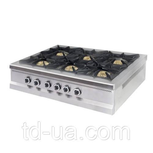 Плита 6-ти конфорочная настольная МО15-6N