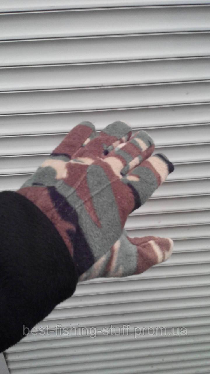 RAW-POL Флисовые перчатки, очень теплые!