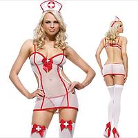Костюм медсестры (боди) полупрозрачное