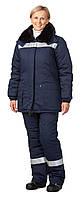 Утепленный костюм женский, женская утепленная спецодежда, рабочая одежда для женщин, униформа
