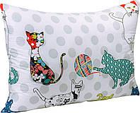 Подушка силиконовая 50х70 (ткань сатин) Котята