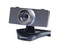 Веб-камера REAL-EL FC-140 с микрофоном