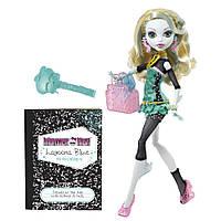 Кукла Monster High Лагуна Блю (Lagoona Blue) вторая волна базовых кукол Монстр Хай Mattel