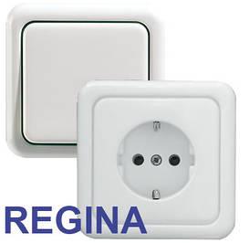 Розетки и выключатели REGINA Polo HAGER