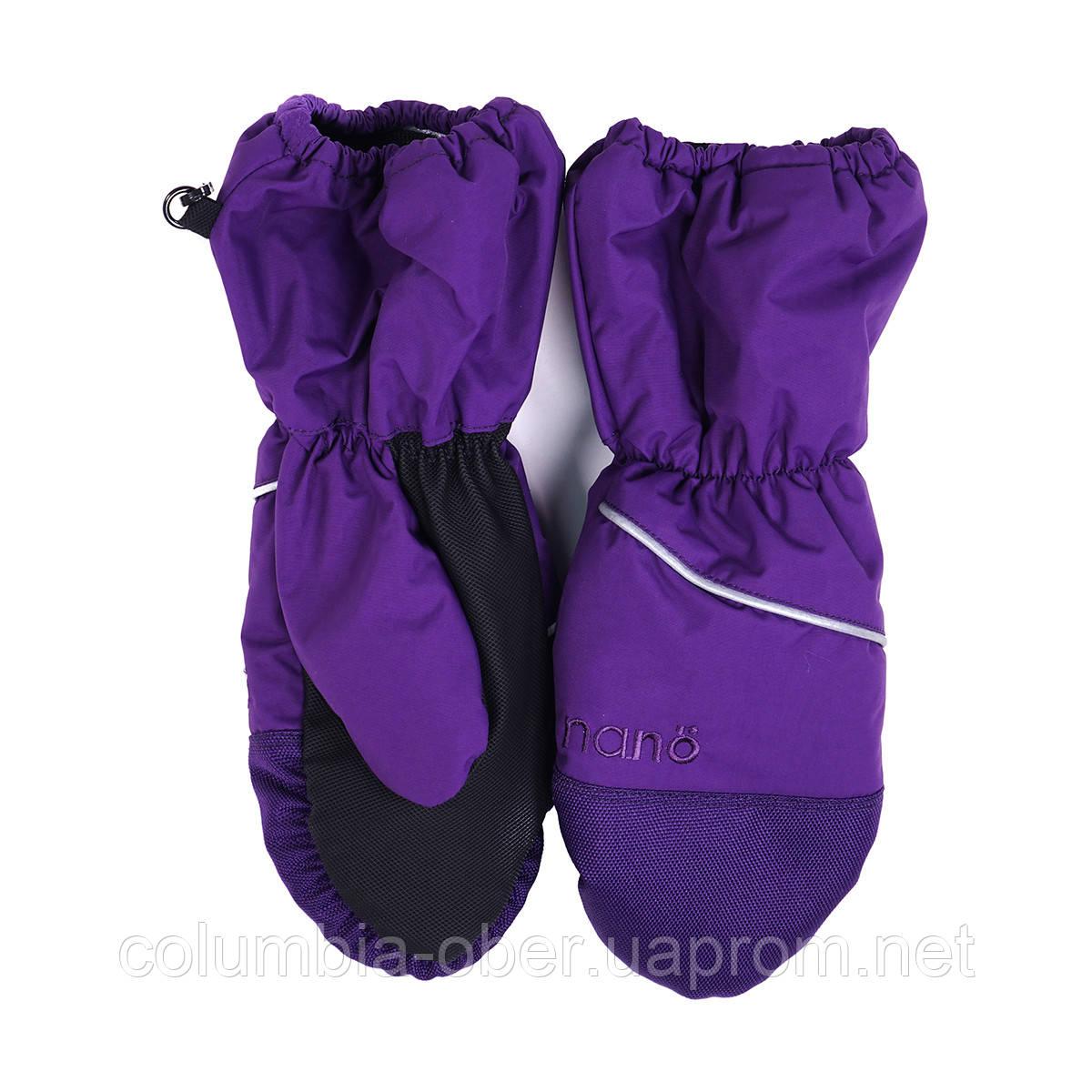 Рукавицы - краги для девочки Nano 201 MIT F16 Purple Magic. Размер 2/3Х -12/14.