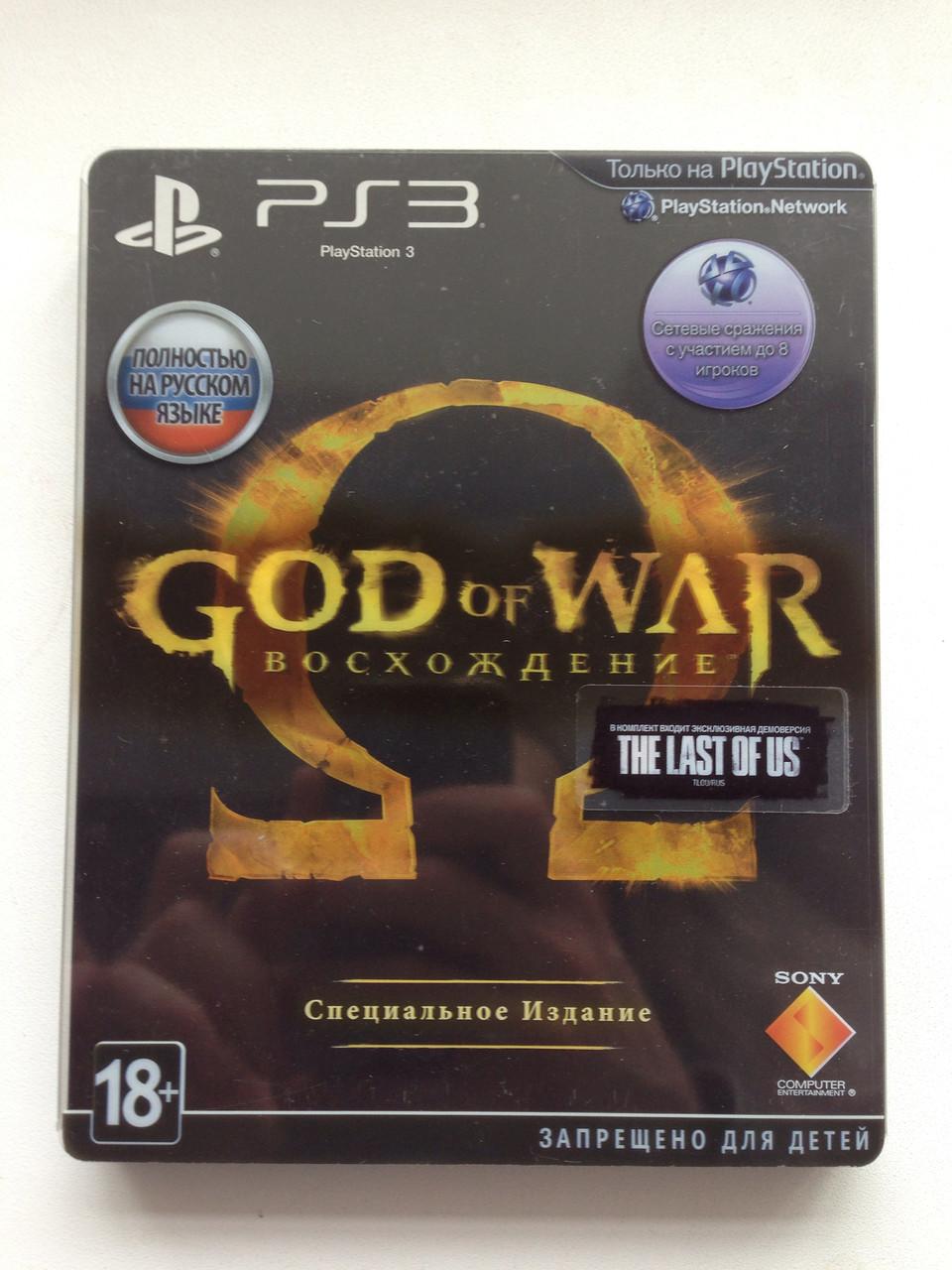 God of War Восхождение Steel book