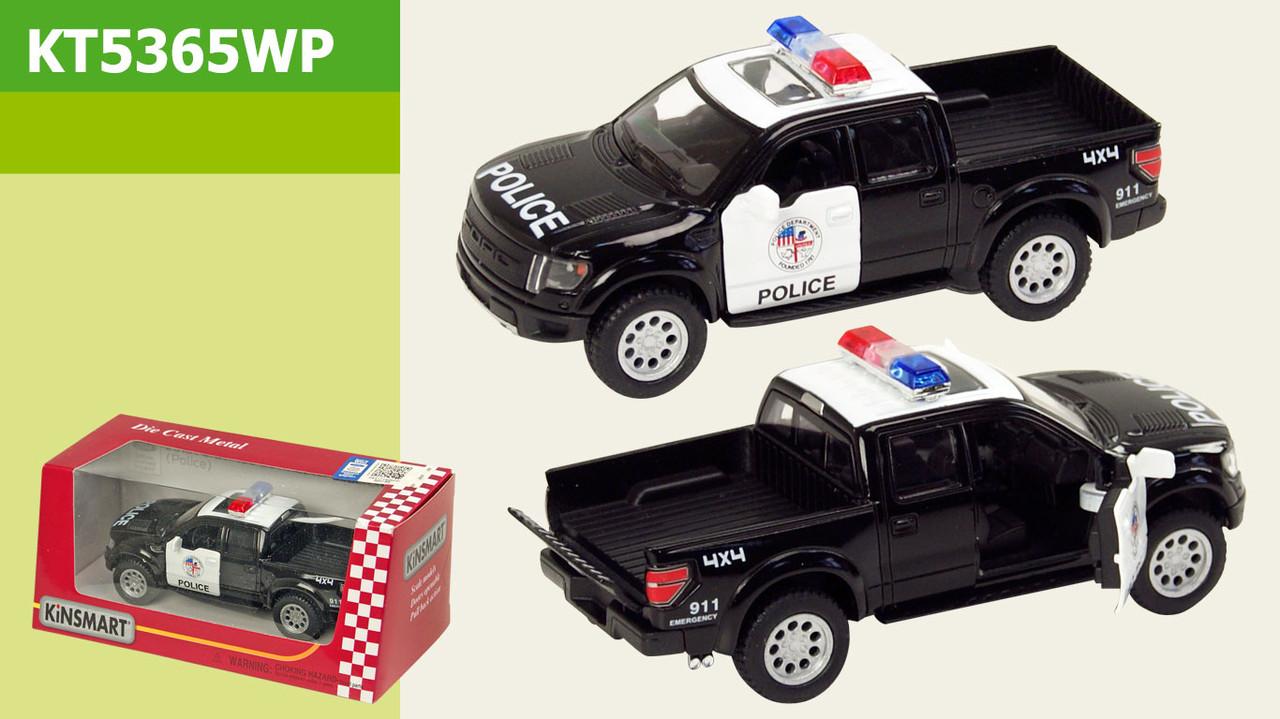 Машинка Ford F-150 SVT Police KT5365WP KINSMART 1:46