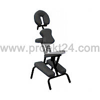 Массажный стул с сумкой, чёрный