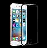 3D Metall защитное стекло для iPhone 7 Plus / iPhone 8 Plus - Black, фото 3