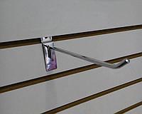 Крючок на Экономпанель 15см Металл Хром