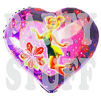 Фольгированный шарик сердце Фея