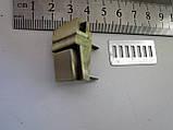 Замок клавишный, для портфеля, барсетки 20 х 27 мм антик, фото 5