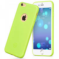 Чехол Hoco Juice series back cover для iPhone 6/6S Plus зеленый, фото 1