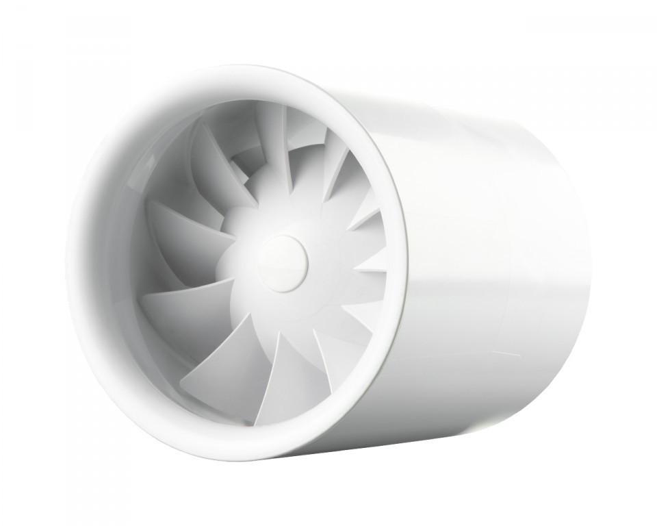 Бытовой канальный вентилятор Вентс 100 Квайтлайн Т (оборудован таймером) - FITING.com.ua в Черкассах