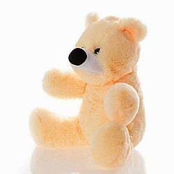 Мягкая игрушка: Плюшевый медведь Бубулик, 55 см, Персиковый