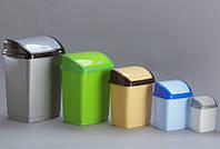 Ведро полипропиленовое для мусора Домик 1,7 литра (Горизонт, Харьков)