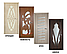 Дверь межкомнатная остекленная Геометрия (Дуб английский), фото 5
