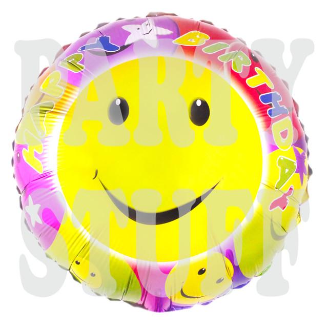 воздушный шарик смайлик