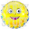 Воздушный шарик фольгированный Солнышко, 44 см