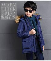 Куртка демисезон Мех (син) 140