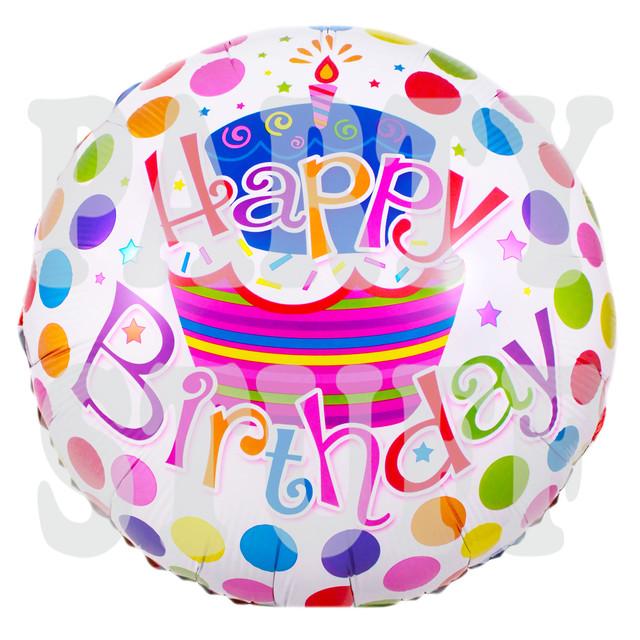 фольгированный шарик на день рождения