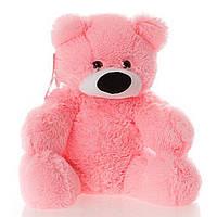 Плюшевый мишка Бублик 50см №1 Б1-10 розовый  (мишка игрушка)