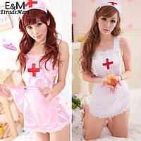 Игровой костюм «Медсестра», трусики в комплекте. Размер XS-S. Только предоплата., фото 1