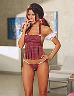 Сексуальный костюм студентки, костюмы для ролевых игр, эротическое белье