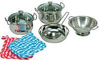 Набор нержавеющей посуды Bino из 8 предметов (83392)