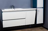 Шкафчик навесной Cyprus 1250 (ШН-Peggy 1250) с умывальником Fancy Marble Peggy 1250