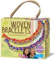 Набор для творчества 4М Тканые браслеты (00-04641)