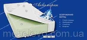 Односпальный матрас Аквамарин 90х190 Світ Меблів h16  биофоам беспружинный 100кг, фото 2