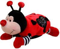 Мягкая игрушка Aurora Божья коровка лежащая 17 см (40189A)
