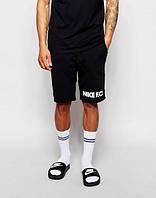 Шорты NIKE, найк, черные, спортивные, в наличии, белое лого, ХБ, молодежные, ст8