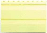 Сайдинг лимонний Альта-Профіль вініловий пластиковий