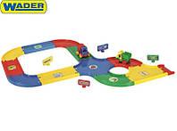 Детский автотрек 2,7 м с машинками Friеnds on the move Wader (54200)