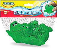 Игрушка для игр в воде BeBeLino Семья Лягушек (57091)