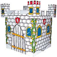 Картонный домик-раскраска Bino Замок (44003)