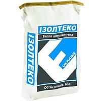 Изолтэко теплоизоляционная штукатурка 0,03 куб.м. 60м/пал