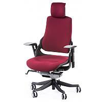 Офисное кресло WAU BURGUNDY FABRIC